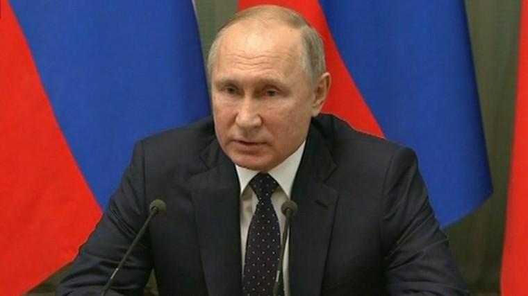 Результат ненабумаге, авжизни: Путин оглавной задаче правительства на5 лет