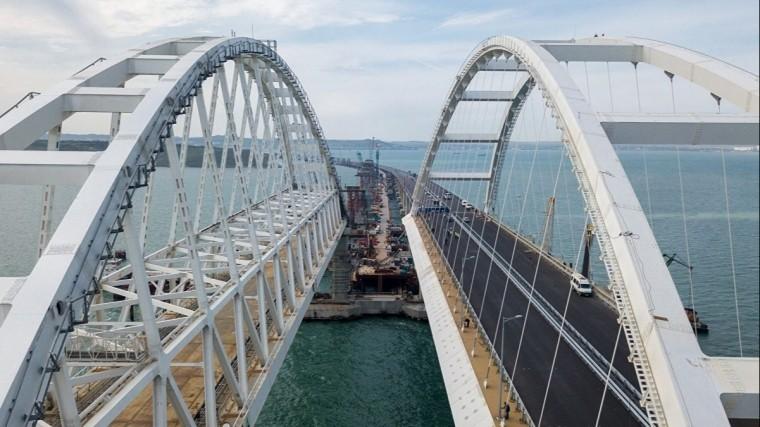 Первые поезда проедут поКрымскому мосту вконце 2019 года
