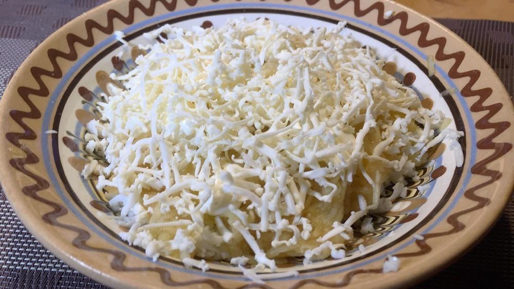 Пошаговый рецепт салата «Хризантема»