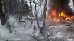 Опубликован список погибших при крушении вертолета вБурятии