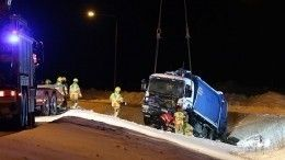 Семья изРоссии погибла вжутком ДТП вФинляндии, автомобиль всмятку— фото