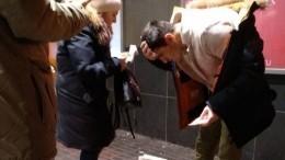 Сосулька травмировала голову мужчине наюго-западе Москвы