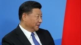Китайский лидер СиЦзиньпин поздравил Владимира Путина сНовым годом