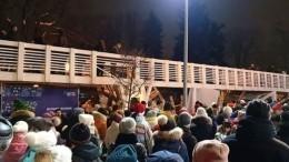 Директора столичного Парка Горького уволят после обрушения моста