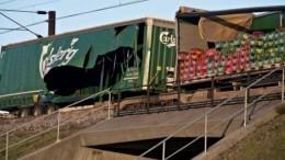Шесть человек погибли врезультате железнодорожной катастрофы вДании