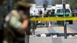 Видео: Встолице Чили произошел теракт