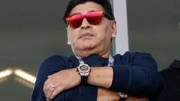 Дочь Диего Марадоны рассказала осостоянии легенды мирового футбола