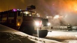 Крупный пожар произошел наПриобском месторождении нефти вХМАО