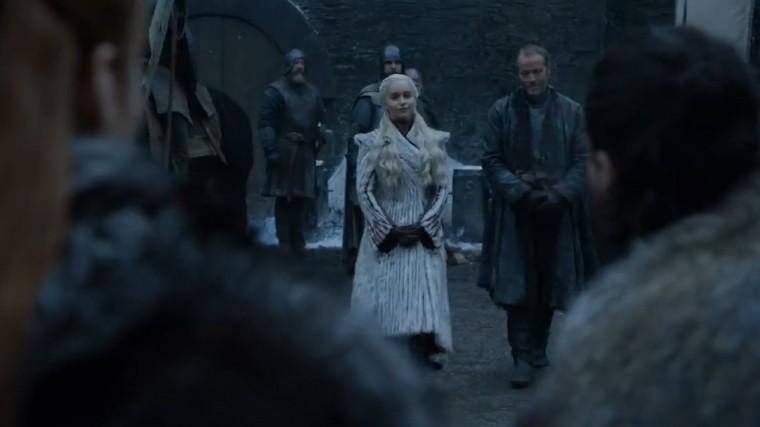 НВО впервые показал кадры последнего сезона «Игры престолов»