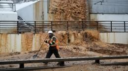 Вода вТушинском тоннеле: последам аварии