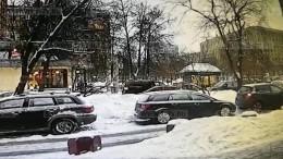 Предполагаемые похитители криминального авторитета Василенко попали навидео