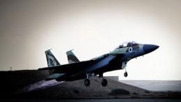 Район международного аэропорта Дамаска атаковали ВВС Израиля— видео