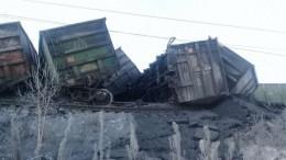 ЧПпод Иркутском: срельсов сошли почти три десятка вагонов