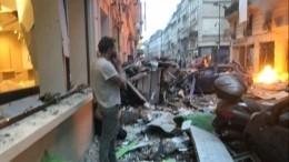 Вцентре Парижа прогремел взрыв