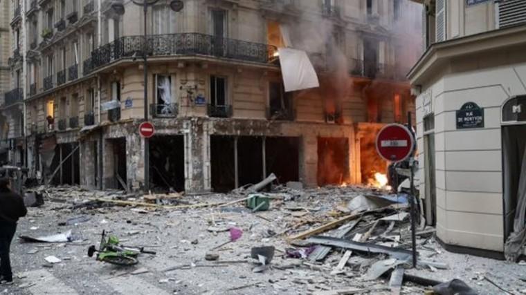 Два человека погибли врезультате взрыва вПариже