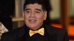 Диего Марадона попал вбольницу скровотечением