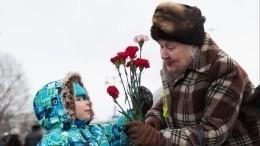 Прямая трансляция репетиции парада вчесть окончания блокады Ленинграда