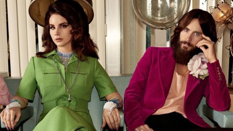 Лана Дель Рей иДжаред Лето сыграли отвязных влюбленных врекламе Gucci