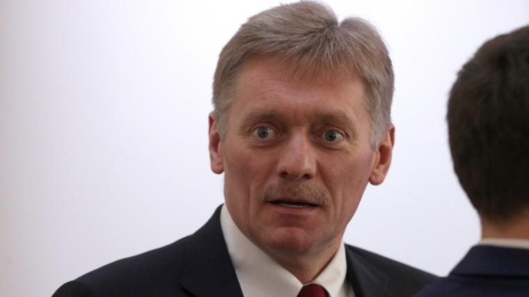 Песков признался, что отслов Путина унего вжилах стынет кровь