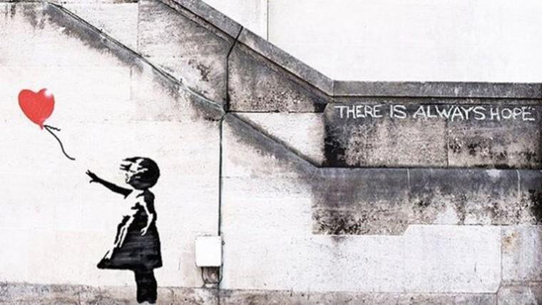ВТокио обнаружили граффити, возможно нарисованное Бэнкси