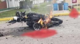 Врезультате взрыва вБоготе погиб 21 человек— видео сместа