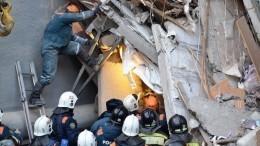 Спасенный из-под завалов дома вМагнитогорске малыш поправляется