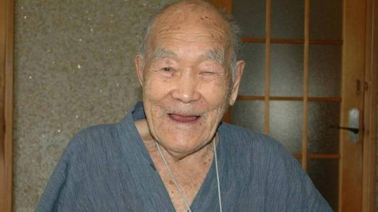 Старейший мужчина планеты умер вЯпонии
