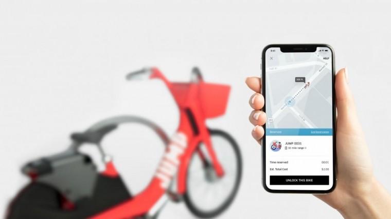 Uber занялся разработкой беспилотных велосипедов искутеров