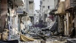 Женщины идети попали под обстрел западной коалиции вСирии