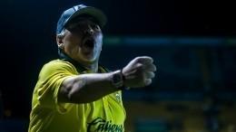 Диего Марадона поддержал законного президента Венесуэлы