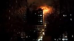 Видео: вгорящей квартире вБалашихе погибли 2 человека