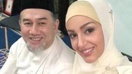 Появилась информация о«разводе» «Мисс Москвы-2015» сбывшим королем Малайзии