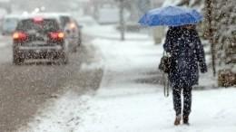Из-за снега вПоволжье остановилось движение транспорта между городами