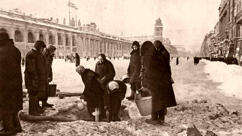 Тест назнание истории блокады Ленинграда