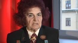 Память блокады: Мария Ягодницына вспоминает детство восажденном Ленинграде