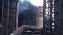 Пожар наМагнитогорском металлургическом комбинате частично локализован