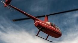 Частный вертолет совершил жесткую посадку вНижегородской области