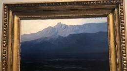 Украденную изТретьяковки картину Куинджи выставили напродажу наАвито
