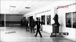 Видео: Смоленские студенты спародировали кражу картины Куинджи