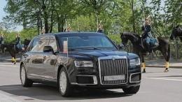 Президентский лимузин проходит испытания морозами наЯмале