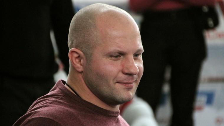 Федор Емельяненко впятый раз стал отцом