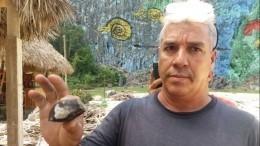Кубинцы свосторгом разбирают насувениры упавший наних метеорит