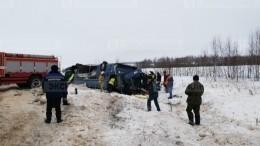 Видео: Семь пассажиров автобуса погибли ваварии под Калугой