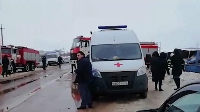 Задержан владелец автобуса, попавшего всмертельное ДТП под Калугой