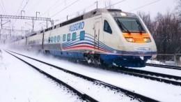 Пассажиры «Аллегро» сообщают ополомке поезда натерритории Финляндии