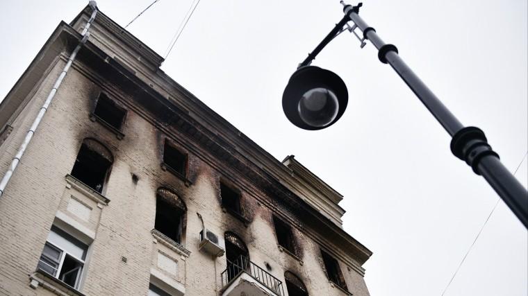 Увеличилось число жертв пожара вдоме наНикитском бульваре