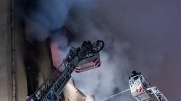 «Задве минуты было все вдыму»: Житель дома наНикитском бульваре опожаре