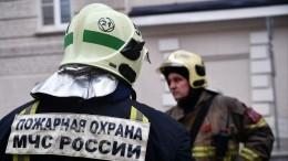 СКРФопубликовал видео сместа пожара вдоме наНикитском бульваре