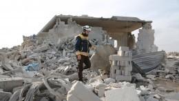 «Белые каски» планируют снова применить химоружие вСирии