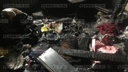 Появилось видео изсгоревшей квартиры дочери Юрия Башмета